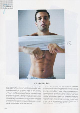 Pedro - papermag